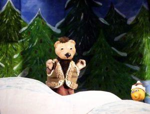 """3 января – «Колобок и ёлочные игрушки» (театр """"Некабусик"""")"""