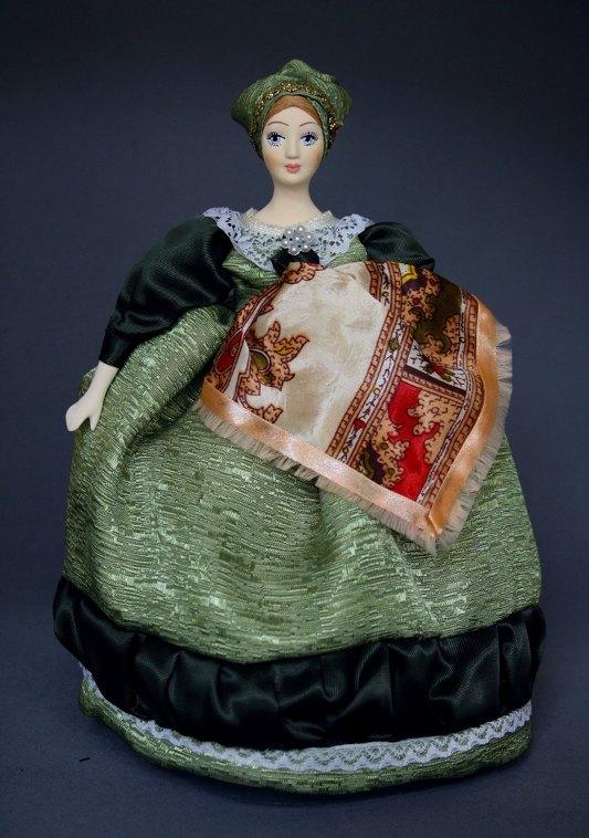 куклы на чайник