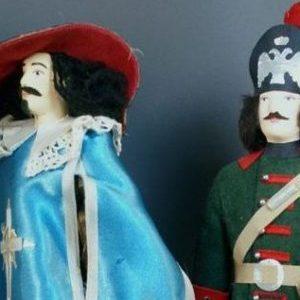 Куклы-военный мундир