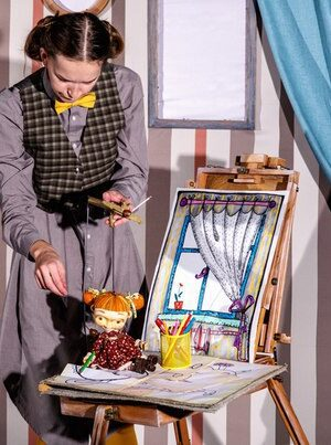 В Музее кукол кукольная фантазия «Пум-пу-рум!» театра «Привет!»